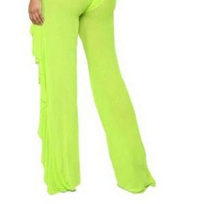 NWOT Willow Mesh Dance/Swim Coverup Pants